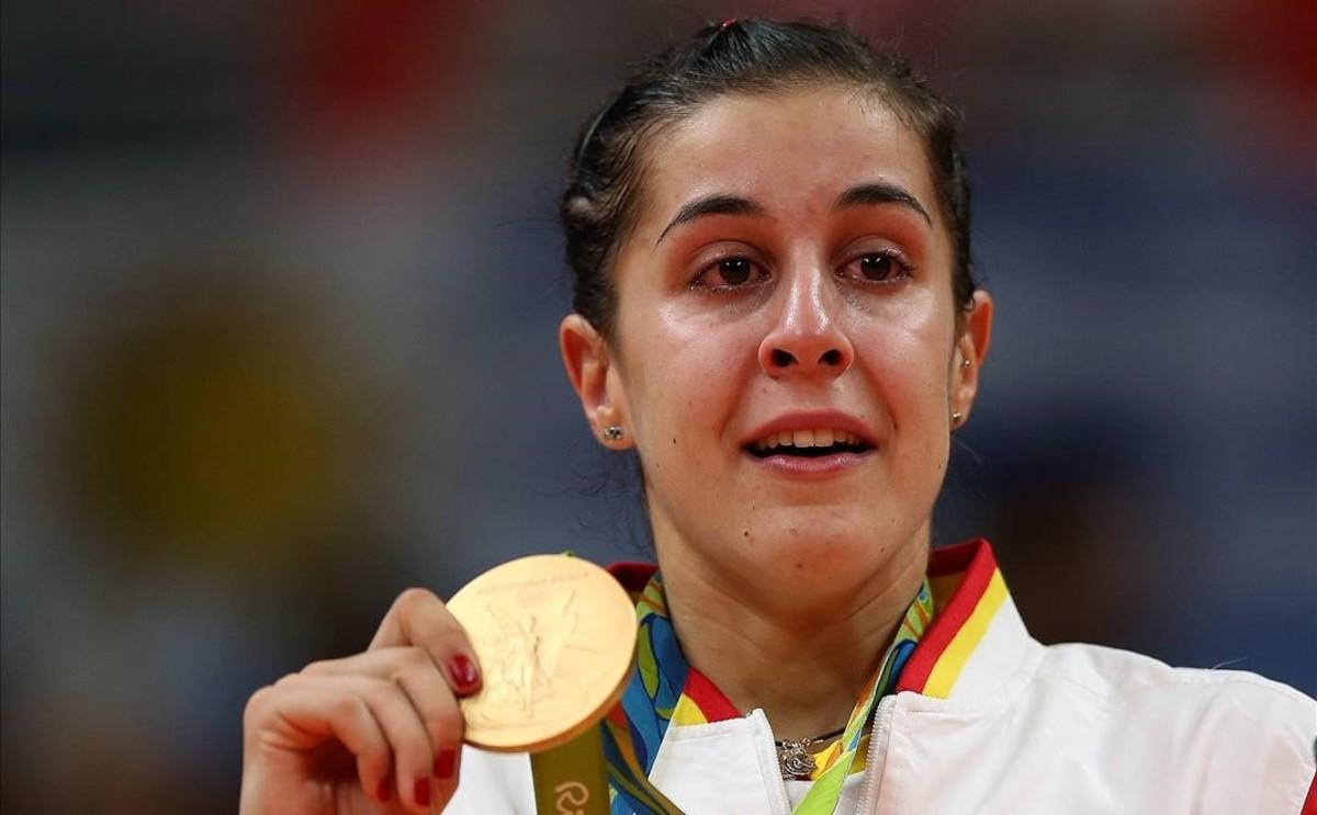Carolina Marín, a gritos hasta el oro