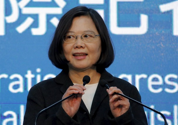 Una mujer frente a China