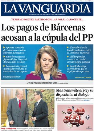 La Vanguardia, 1-2-2013.