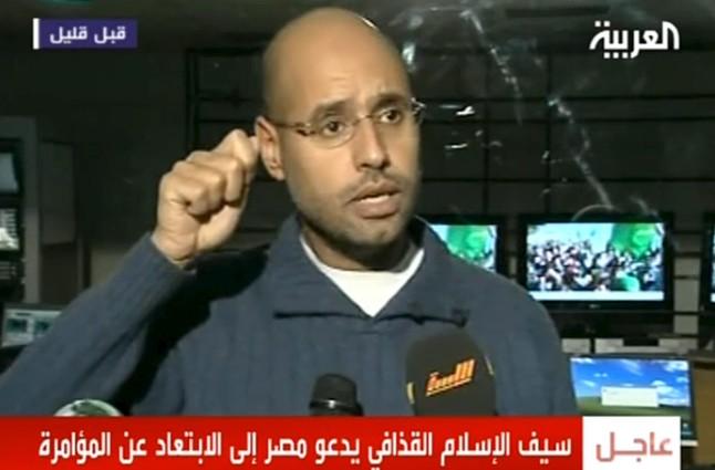 Liberado el segundo hijo de Gadafi