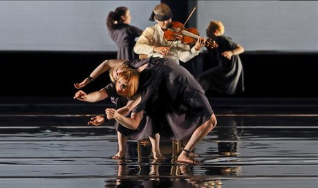 Una imagen del espectáculo 'Opus', de la compañía australiana Circa.