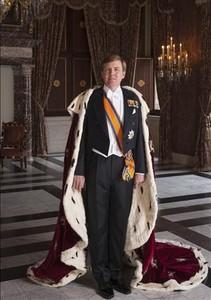 Retrat oficial del rei Guillem d'Holanda.