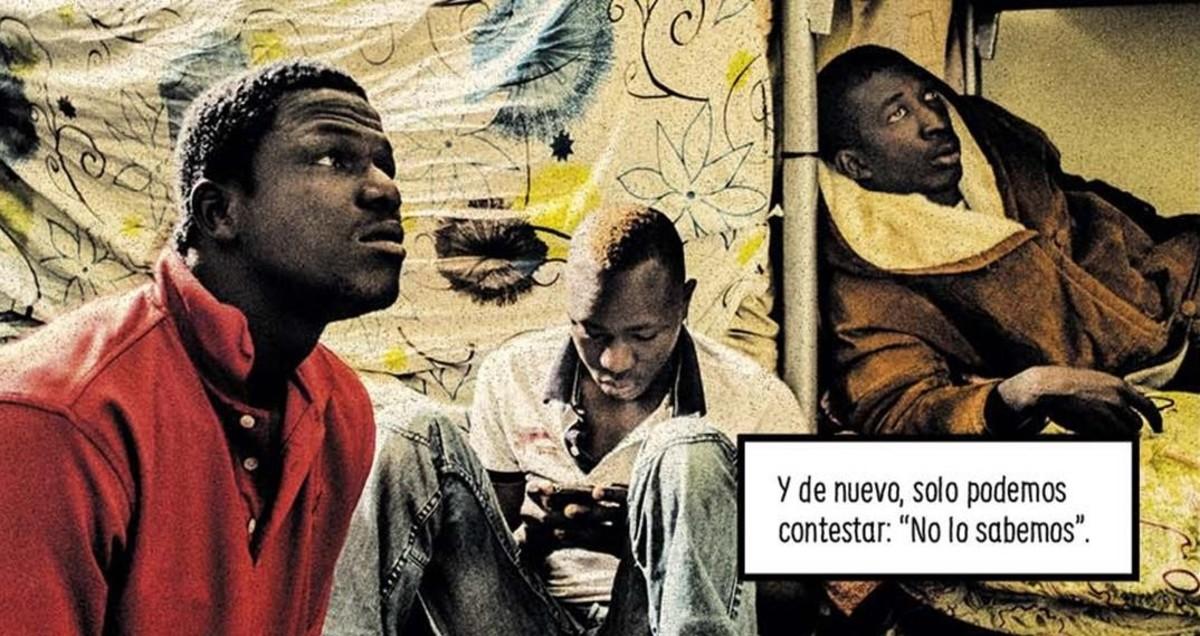 Viñeta del cómic 'La grieta', de Carlos Spottorno y Guillermo Abril.