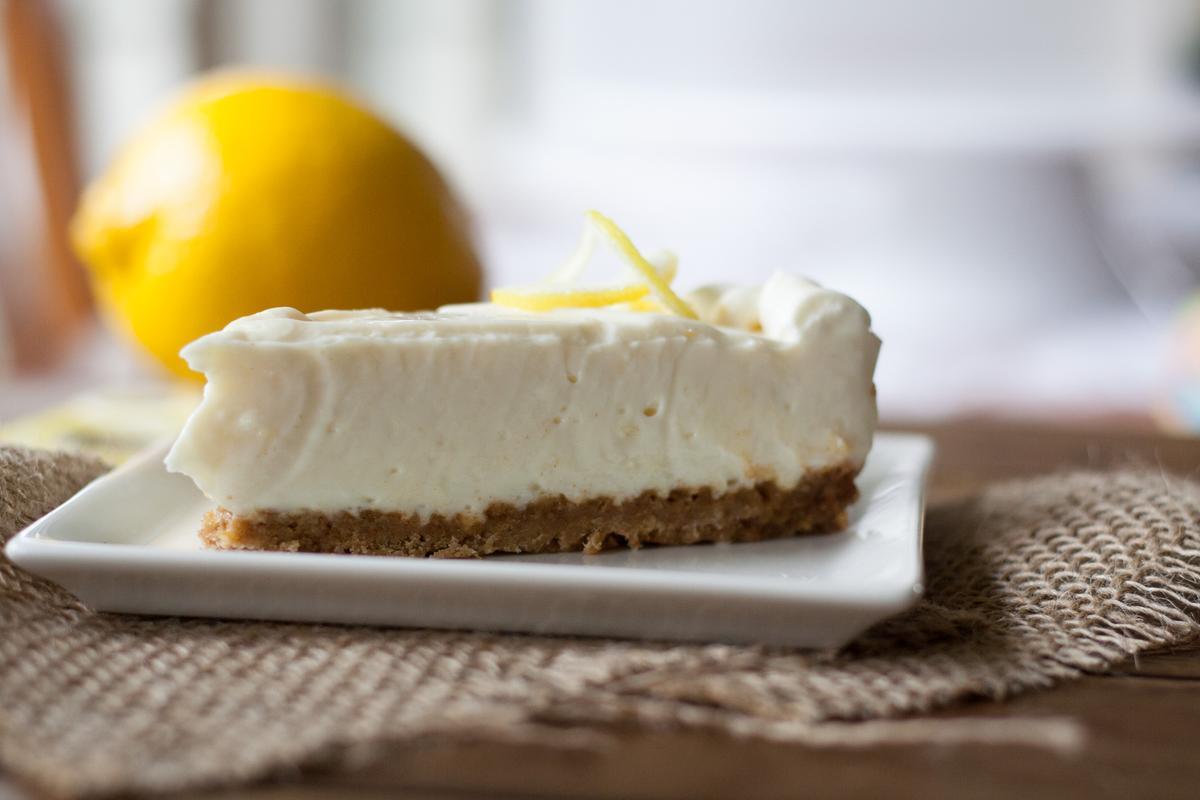 Tarta de queso sin horno y sin gelatina