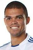 Состав Реал Мадрид 2013-2014 Пепе Pepe Защитник Номер 3