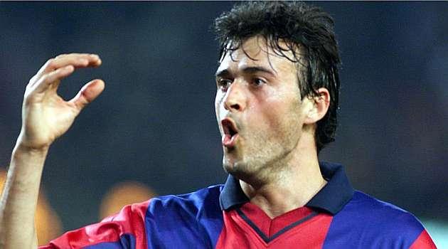 Resultado de imagen para Luis enrique futbolista