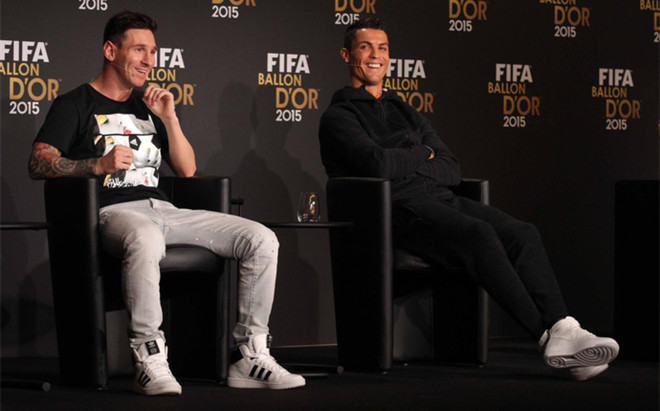 Image result for Messi and I are not good friends, admits Ronaldo