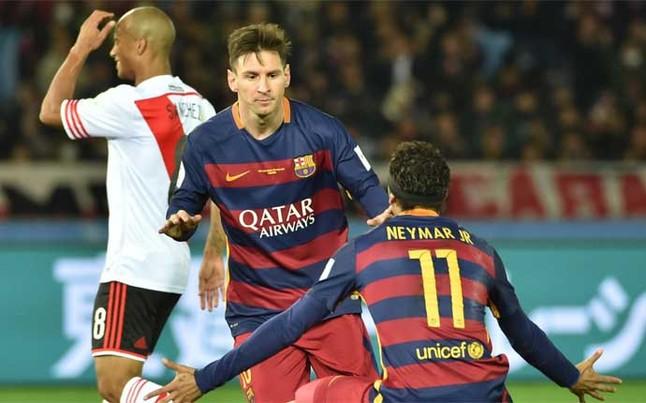 Messi hace campeón Mundial de Clubes al FC Barcelona por tercera vez