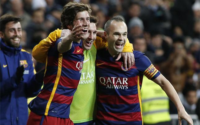 Así cantaron las radios los goles del Barcelona en el Clásico contra el Madrid