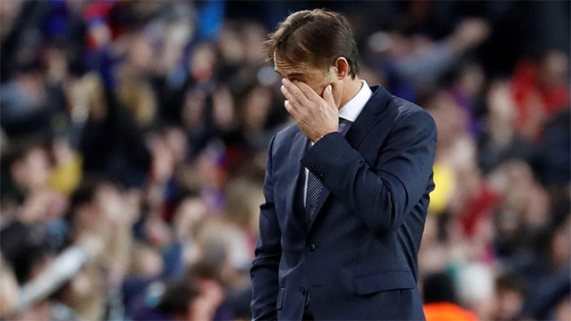 Image result for Real Madrid sack Lopetegui, announce replacement
