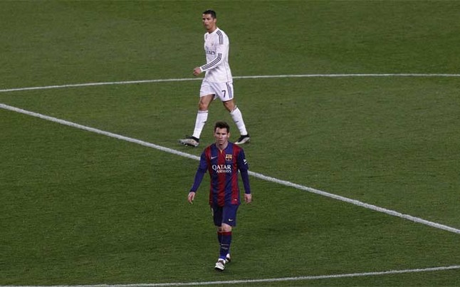 Leo Messi supera a Cristiano Ronaldo en casi todo
