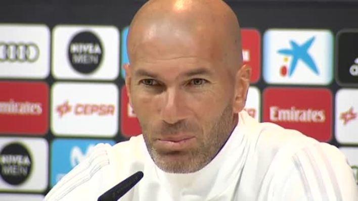 Zidane: No quiero una Liga española sin el Barça
