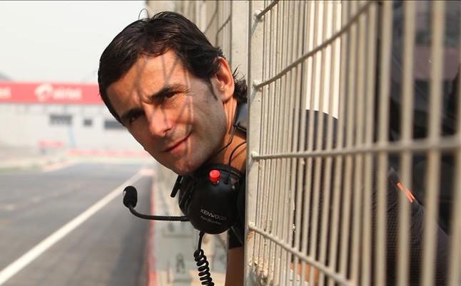 Pedro de la Rosa prueba un monoplaza de la Fórmula-E