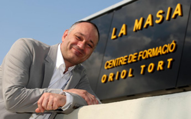 <b>Carles Folguera está entusiasmado con la nueva Masia Centre de Formació Oriol Tort</b><br/>Carles Folguera está entusiasmado con la nueva Masia Centre de Formació Oriol Tort