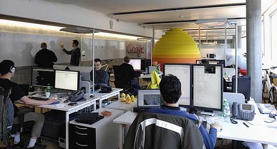 Oficina google en Zurich