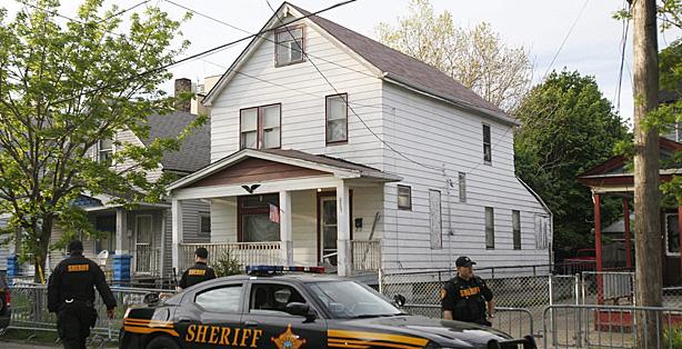 La casa donde estuvieron cautivas las tres chicas en Cleveland (Ohio). | Efe