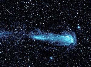 Detalle de la estrella 'Mira' (NASA)