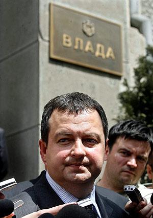 El Ministro de Interior serbio, Ivica Dacic
