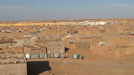 Un campo de refugiados en el Sáhara. | R. Q.