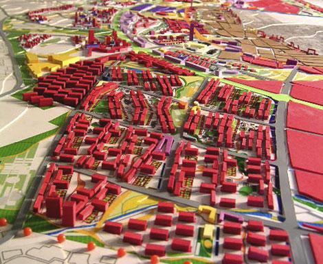 Maqueta para la ciudad china. | Cedida por Ruiz Barbadin
