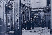 Interior del Palacio de Liria en 1937.   IPCE