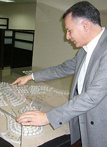 Bashar Masri, responsable del proyecto.