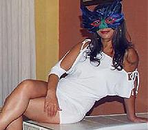 Una de las prostitutas de los clubs de alterne.