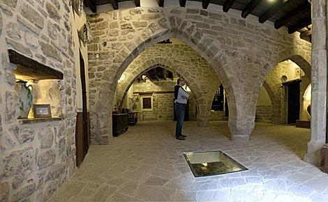 Vistas de la sinagoga judía del siglo X-XI. | Efe