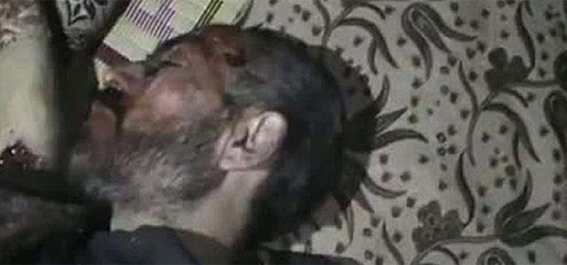 Imagen de Youtube de un muerto, supuestamente, en la masacre de Idlib.| Afp