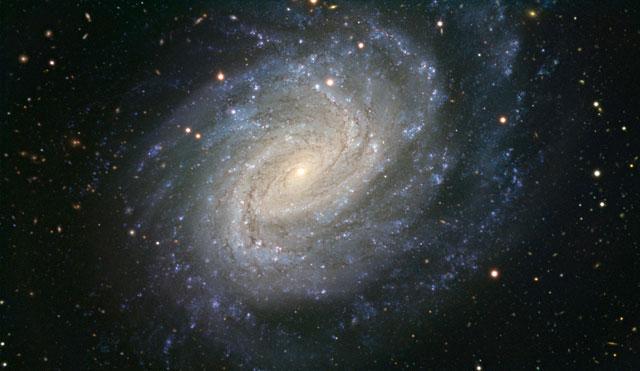 Galaxia espiral NGC 1187 obtenida con el VLT. | ESO