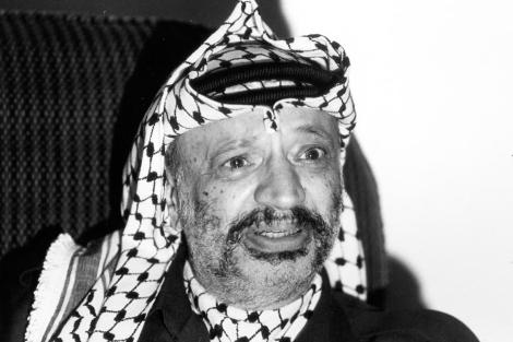 El líder palestino en una imagene de archivo.