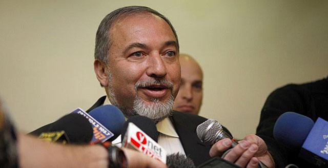 Avigdor Lieberman, tras presentar oficialmente su dimisión. | Apf