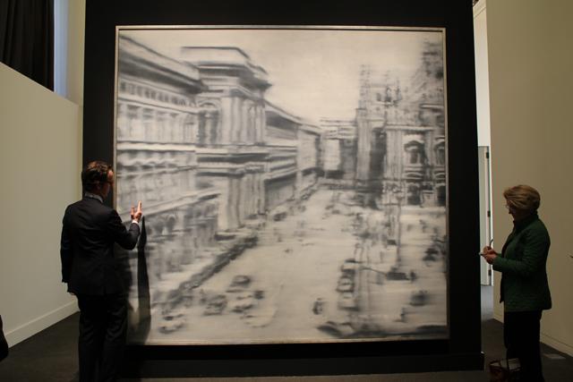 'Plaza del Duomo de Milán', de Gerhard Richter. | Efe