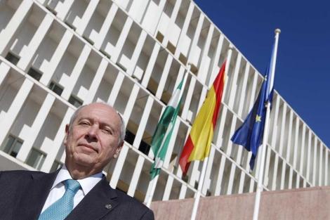El presidente de los procuradores de Málaga, Francisco Bernal.   ELMUNDO.es