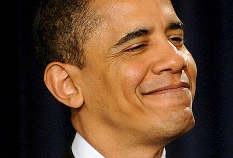 Obama anunció su plan en el edificio Eisenhower, Washington DC.   Efe