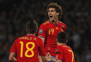 Escocia 2-3 España