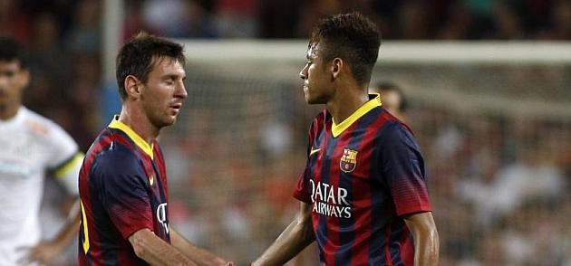 Neymar y Messi, la mejor dupla atacante