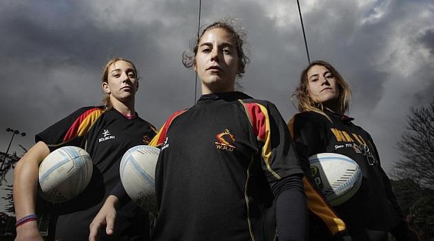 Berta García, Patricia García e Irene Schiavone posan para Marca en Nueva Zelanda