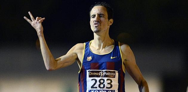 Olmedo entra en meta proclamándose campeón. Foto: Juan Aguado