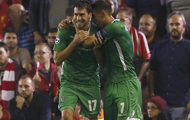 Dani Abalo, ilusionado por medirse al Real Madrid en Champions
