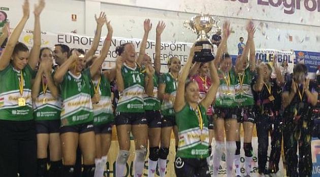 El Naturhouse Ciudad de Logroño revalida<br /> el título de la Supercopa de España