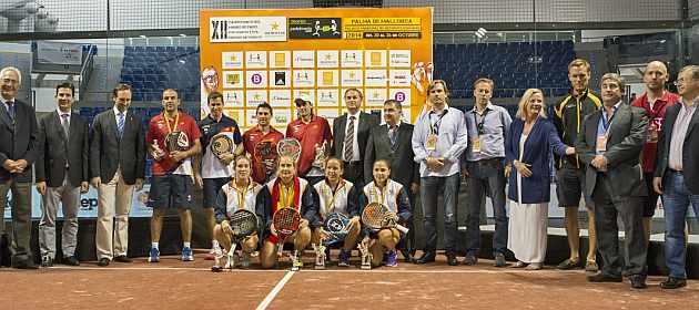 Amatriain-Llaguno y Mieres-Díaz, campeones del mundo