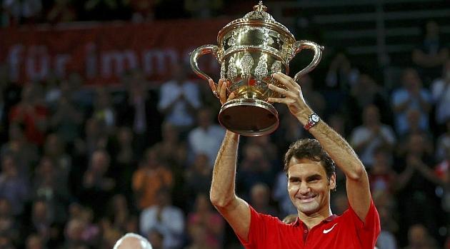 Federer gana el título en casa por sexta vez