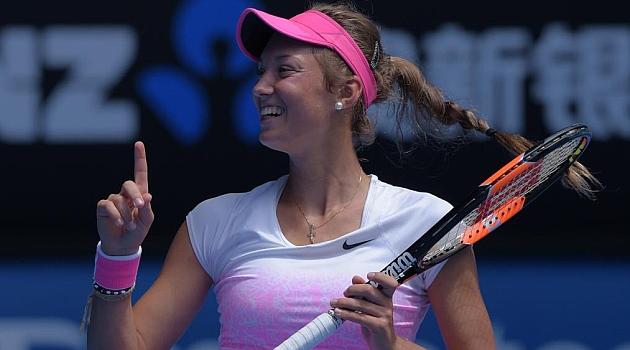 Una niña de 16 años, campeona del junior de Australia