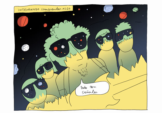 Los Planetas según Juanjo Sáez