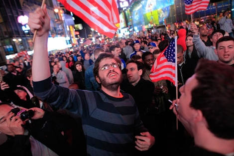 Celebración en Times Square. | Reuters