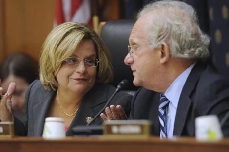 La congresista cubano estadounidense Ileana Ros-Lehtinen en el Capitolio. | Efe