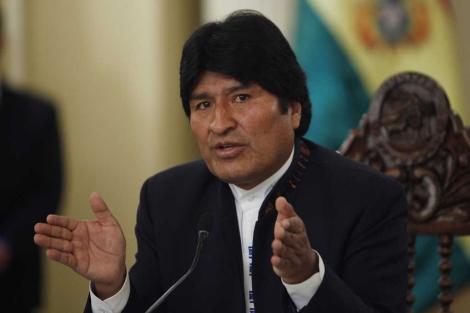 El presidente boliviano Evo Morales. | AP
