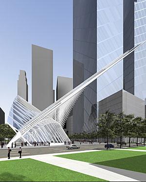 Proyecto de Santiago Calatrava para la Zona Cero.