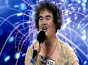 Susan Boyle interpretando I dreamed a dream del musical Los Miserables. (Foto:MUNDO)